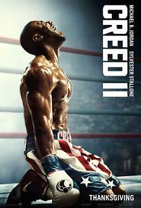 Creed II 2018 Movie Poster A0-A1-A2-A3-A4-A5-A6-MAXI C349