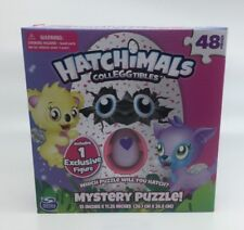 HATCHIMALS Colleggtibles Mystery Puzzle [48 Pieces] - includes one figure in box