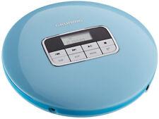 GRUNDIG tragbarer CD-Player GCDP 8000 Anti-Shock MP3 CD-R hellblau B-Ware