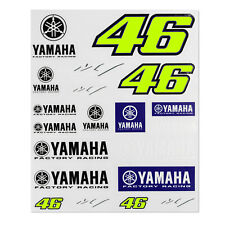 Valentino Rossi VR46 Official Sticker Set Decals Yamaha Factory Racing MotoGP