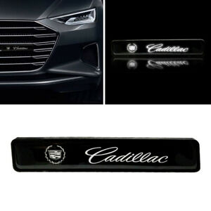 1PCS CADILLAC LED Logo Light Car For Front Grille Badge Illuminated Decal