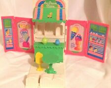 Vintage Kenner Wish World Kids Treats N Sweets Doll Refrigerator Parlor