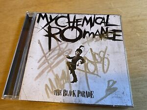 "My Chemical Romance Autographed Signed ""The Black Parade"" CD Gerard Way"