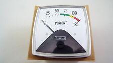 CROMPTON INSTRUMENTS 016-01VA-MT**-SZ-SZ-SZ FIESTA  METER 0-125 PERCENT 0-10VDC