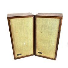 Vintage KLH Model Seventeen Model 17 Stereo Speakers Pair Tested & Working