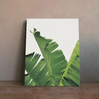 Minimalist Green Plants Poster Print Nordic Home Decor Art Canvas Painting L