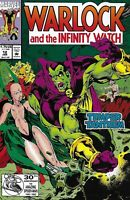 Warlock And The Infinity Watch Comic Issue 12 Modern Age First Print 1993 Raney