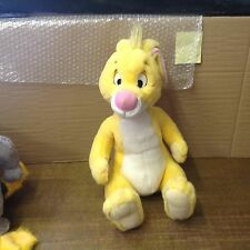 "WALT DISNEY PLUSH  16"" inch YELLOW RABBIT from Winnie the Pooh VGC"