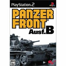 Used PS2 Panzer Front Ausf.B Japan Import