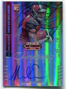 2014 Panini Contenders Championship Ticket 236a Mike Evans Rookie Auto 7/49