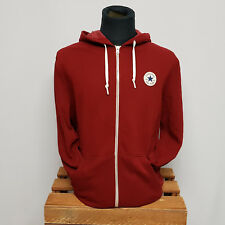 Converse Mens All Star Patch Zip Hoody Red 10002131-607 Kapuzenjacke rot Gr. XL