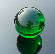 GREEN 80MM +STAND NEW SPHERE NATURAL QUARTZ OBSIDIAN POLISHED CRYSTAL BALL