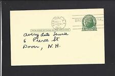 NEW YORK,NEW YORK, 1940 GOVERNMENT POSTAL CARD, ADVT. CONTINENTAL BEARING CO.
