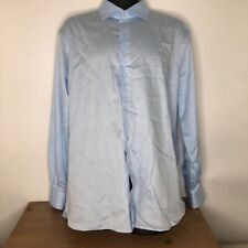 Nordstrom Signature Mens Dress Shirt Slim 17.5
