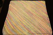Premature/ Small Babies Diagonal Design Incubator Blanket DK Knitting Pattern
