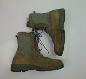 "Belleville Men 10W Waterproof Combat Military Army Boots Leather Vibram Soles 8"""
