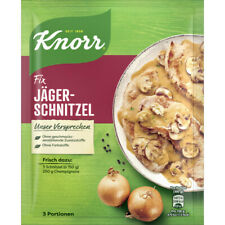 10 Bags Knorr Fix Jaeger Huntsman Schnitzel New from Germany