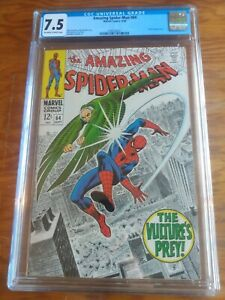 The Amazing Spider-Man 64  CGC 7.5  Vulture Cover and Appearance