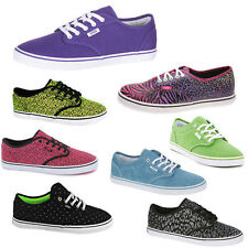 Authentic Lace-up VANS Trainers for Women