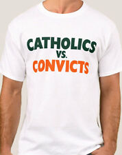 Catholics vs Convicts Vintage 1988 Shirt Notre Dame Miami FREE SHIPPING