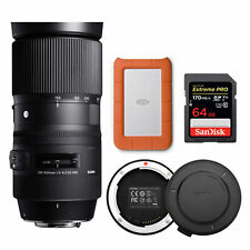 Sigma 150-600mm f/5-6.3 DG OS HSM Contemporary Lens for Nikon Bundle