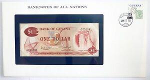 Billet 1 Dollar Guyana