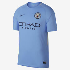 aec0889ad Nike Manchester City Jersey 2017 / 2018 Home Kids Youth L Soccer Blue 17 18