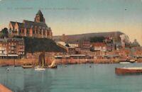 LE TREPORT -  Vue prise du Pont Tournant
