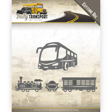Amy Design Stanzschablone Daily Transport Public Transport ADD10131