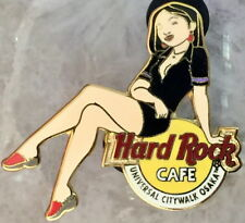 Hard Rock Cafe UC OSAKA 2004 GIRL of ROCK Series PIN GOR #2 Black Uniform #21177