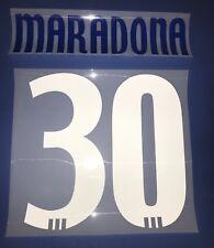 a6e24fb584d26 cervia kit MARADONA plastichina blue royal + bianco Nameset maglia calcio  adidas