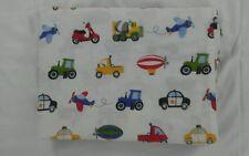 Dream Factory Trucks Tractors Cars Twin Flat Sheet