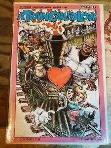 A Train Called Love #1 NM 2015 Dynamite Comic Garth Ennis