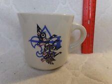 Boy Scouts America Blue Geese Vintage Coffee Tea Cup Mug