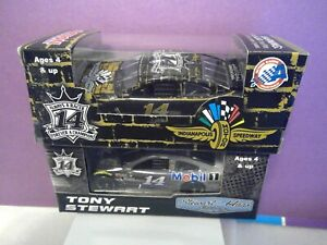Tony Stewart 2016 #14 Mobil Last Ride 1/64 & #14 Indianapolis Speedway 1/64 HTF!
