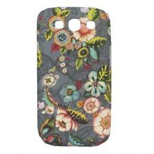 Oilily Cas De Téléphone Portable French Flowers Samsung Galaxy SIII Case Grey