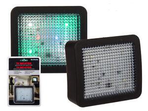 1/2 TV Imitator Einbruchschutz Fake TV LED Fernseh Attrappe Dummy Home Security