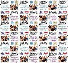 Personalised Gift Wrapping Paper LITTLE MIX 2018 Birthday Any Name!