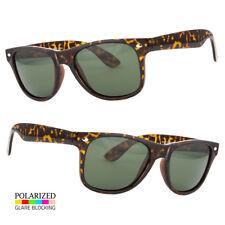 Polarized Anti Glare Classic Vintage Retro Sunglasses Men Women Full Frame