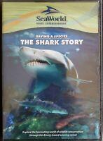Saving a Species: The Shark Story (DVD, 2011) SeaWorld Region Free Brand New
