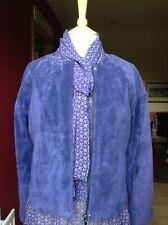 Violet Suede Jacket Speziale Per Una UK 12 BNWT RRP £199