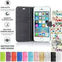 Case Cover Flip Leather Wallet Book Folio Stand For Apple iPhone 5C