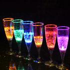 LED Champagne Glass LED Light Color Cup Goblet for Party Wedding 6 Pcs Set Cups