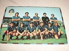 CARTOLINA CALCIO SQUADRA INTER F.C. INTERNAZIONALE 1975/1976 VIAGGIATA