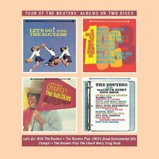 THE ROUTERS - LET'S GO/ROUTERS PLAY/1963'S INSTRUMENTAL HITS/CHARGE  2 CD NEU