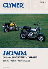Clymer Repair Service Shop Manual Honda Z50,S65,C/CL/CT/SL/XL70,S/SL/ST/CL/CT90
