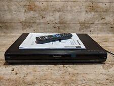Panasonic DMR-EX773 HDD/DVD Grabadora 160GB Freeview con control remoto y las instrucciones