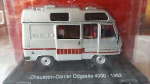 miniature peugeot chausson-carrier odyssée 4000-1983 1/43