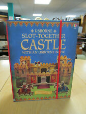 Usborne Slot Together Castle With A Book Age 6-12 New