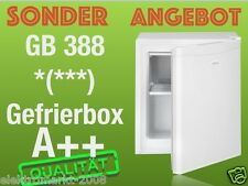 Bomann Single/Büro Gefrierbox√GB 388√A++√Nutzinhalt *(***)30 Liter.weiss farbe